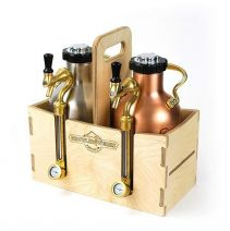 GrowlerWerks uKeg™ cassettina legno 1,9 l