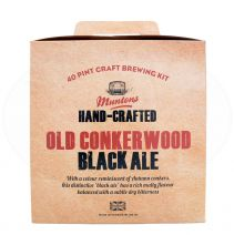 Muntons Hand-Crafted Old Conker. Black Ale