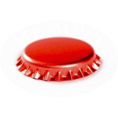 Tappi corona rosso, D. 26 mm - 100 pz.